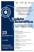 locandina Seduta Scientifica Centro Tiroide