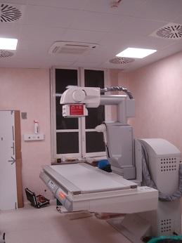 nuova apparecchiatura radiologica telecomandata