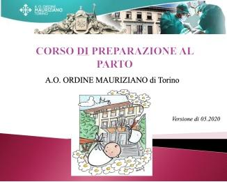 Corso di preparazione al parto online