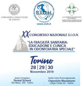 XX congresso nazionale SIOH