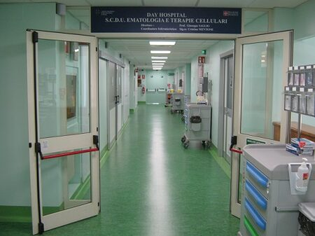 COMUNICATO STAMPA - Nuovo reparto di Day Hospital dell'Ematologia dell' ospedale Mauriziano di Torino - A. O. Ordine Mauriziano di Torino